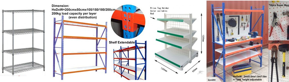 shelf slider