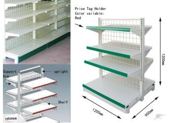 Shelf Unit 2-side Retail Display Shelves Rack Shop Display